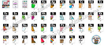 Sassoon Font Alphabet Posters