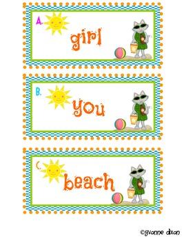 Sassy Cat Sand Play Pronouns
