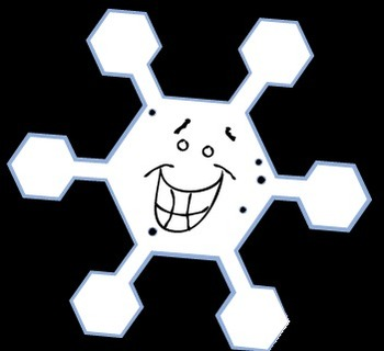 Sassy Snowflake and Snowball & Snow Globe Clip Art {Messare Clips and Design}