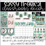 Sassy Tropical Classroom Decor | The BUNDLE