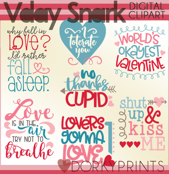Sassy Valentine Clipart