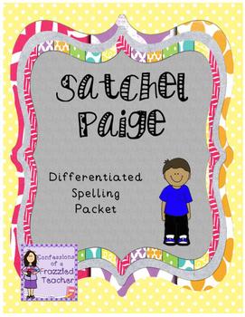 Satchel Paige Differentiated Spelling (Scott Foresman Read