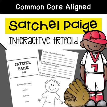 Satchel Paige Trifold Worksheet (5th Grade Reading Street 2011 Edition)