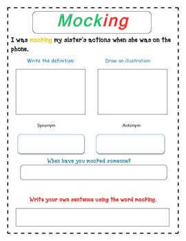 Satchel Paige Vocabulary Selection - Reading Street Unit 1 Week 4