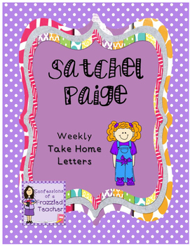 Satchel Paige Weekly Take Home Letters (Scott Foresman Reading Street)