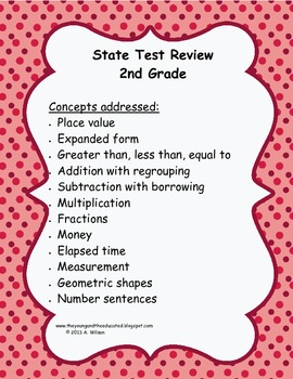 Sate Testing Review Quick Checks