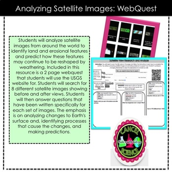 Satellite Image Analysis WebQuest