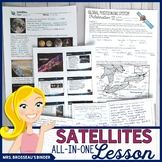 Satellites ALL-IN-ONE Lesson | Astronomy Moons, Natural & Artificial Satellites