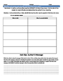 Satire Analysis Worksheet