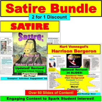 Satire Bundle: Satire and Harrison Bergeron