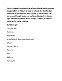 Satire: Introduction Mini Project