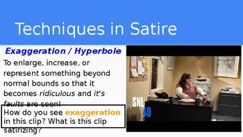 Satire Introductory PowerPoint