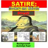 Satire : Prezi Presentation Lesson and Exercises