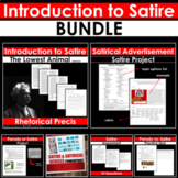 SATIRE BUNDLE: Satirical Devices & Parody PowerPoints, Projects, Assessments