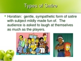 Satire Terms & Examples with images & links