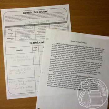 Tom sawyer essay