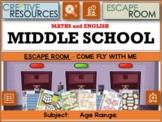 Middle School Revision - Escape Room