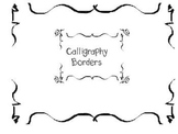 Calligraphy Borders