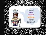Saturdays and Teacakes Interactive Mentor Sentence Teaching Powerpoint