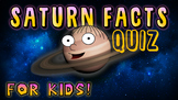 Saturn Facts Quiz!