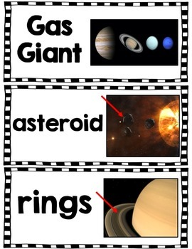 The Solar System: Planet Saturn Research Unit with PowerPoint