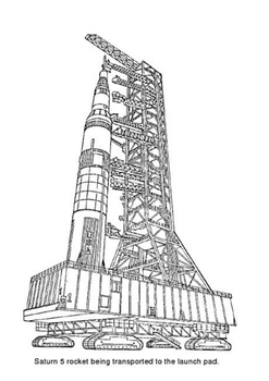 Saturn V Word Search