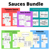 Sauces Unit BUNDLE  (Family and Consumer Science, FACS, FCS)