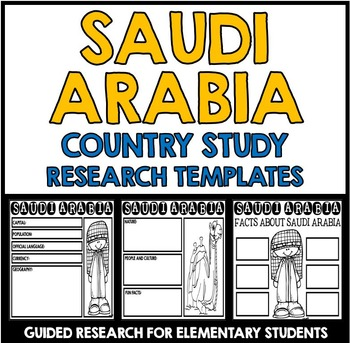 Saudi Arabia Country Study Research Project Templates