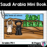 Saudi Arabia Mini Book for Early Readers - A Country Study