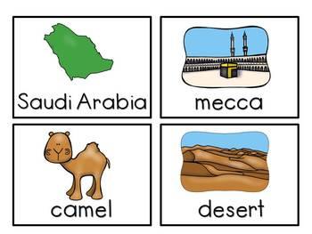 Saudi Arabia - Vocabulary Pack