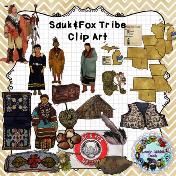 Sauk Fox Tribe Clip Art