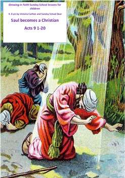 Saul becomes a Christian Acts 9 1-20