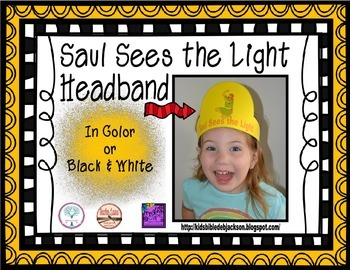 Saul/Paul Sees the Light Headband Freebie