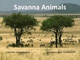 Savanna Animals