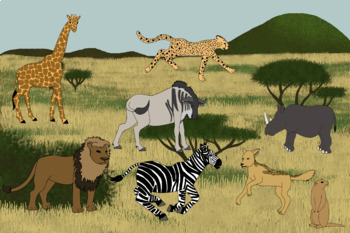 Savanna Biome and Animals