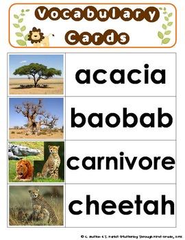 Savanna (Grasslands) Habitat for the Common Core Classroom