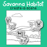 Savanna Habitat Create-a-Scene