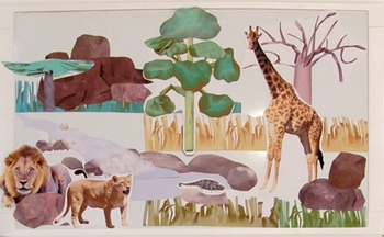 Savanna Safari Magnetic and Flannel Board Images