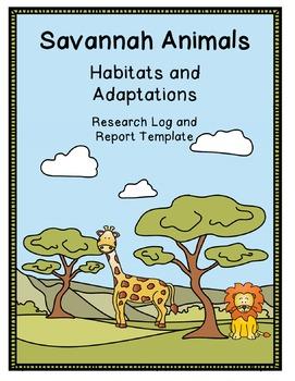 Savannah Animals (Habitats and Adaptations)