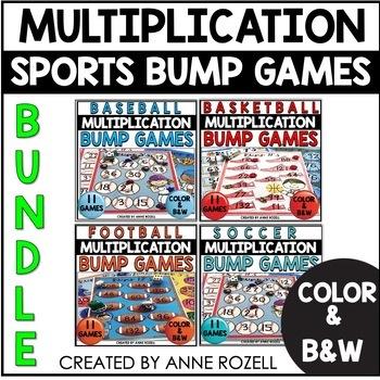 Save 20% off Bundle of 7 BUMP Multiplication Games! HUGE SAVINGS!