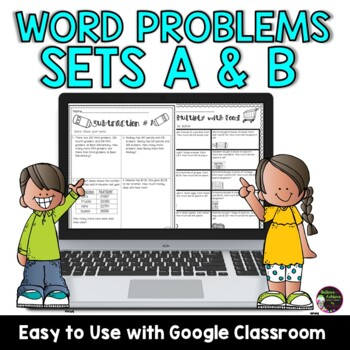 Bundle-Word Problems-Sets A and B! Grade 3! Over 200 problems