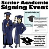 Senior Academic Signing Ceremony Event Bundle