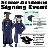 Senior Academic Signing Ceremony Event Bundle