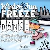 Winter Freeze Dance {Brain Break/ Movement Exploration}