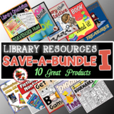 Elementary Library Skills and Resources Bundle #1