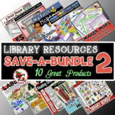 Elementary Library Skills and Resources Bundle#2