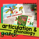 Save Christmas Articulation and Phonology Game