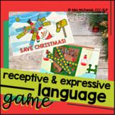 Save Christmas Language Skills Game
