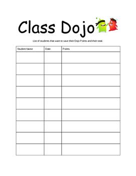 Save Dojo Points