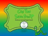 Save Fred! Scientific Method Booklet for Interactive Science Journal STEM